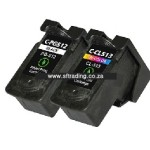 Canon 512XL/513XL - IP512BK/IP513C