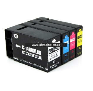 Canon Ink 1400BK/C/M/Y - IPC1400XL