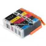 Canon Ink 450XLBK/451BK/C/M/Y - IPC450BK/IPC451