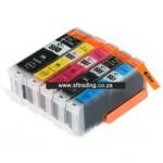 Canon Ink 550XLBK/551BK/C/M/Y - IPC550BK/IPC551